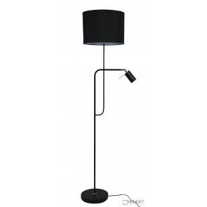Carmen Floor Lamp With Child And Shade Black ORI