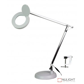 Lente Magnifier Lamp White 3X Magnifier ORI