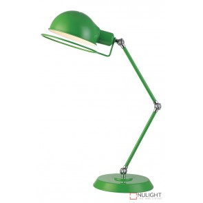 Jazz Desk Lamp Green - Chrome ORI