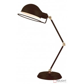 Jazz Desk Lamp Oil Rubbed Bronze - Antique Brass ORI