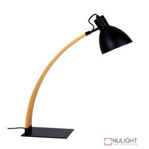 Perno Desk Lamp Oil Rubbed Bronze And Wood ORI