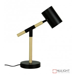 Ludo Desk Lamp Matt Black ORI