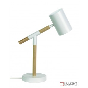 Ludo Desk Lamp Matt White ORI