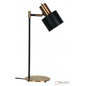 Ari Desk Lamp Black With Copper Head ORI