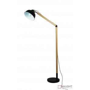 Steam Floor Lamp Matt Black ORI