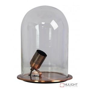 Franklin Antique Copper Table Lamp Clear ORI