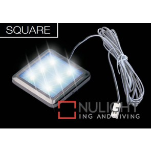 Led Square 52Mm 6 X White ASU