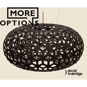 Snowflake Black David Trubridge Pendant DAV