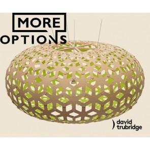 Snowflake Lime David Trubridge Pendant DAV