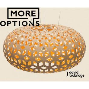 Snowflake Orange David Trubridge Pendant DAV