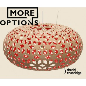Snowflake Red David Trubridge Pendant DAV