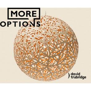 Sola Orange David Trubridge Pendant DAV