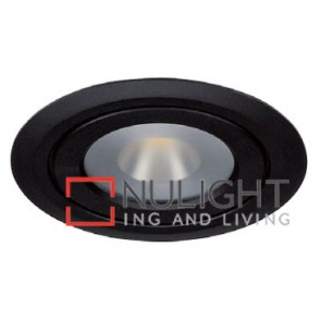 Under Cabinet Flat 4W Black 3000K Led Furniture Light ASU