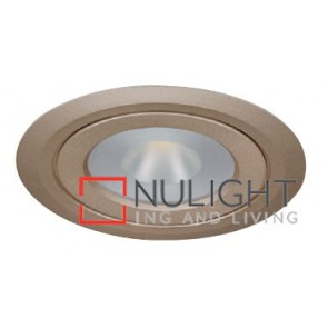 Under Cabinet Flat 4W Gold 3000K Led Furniture Light ASU