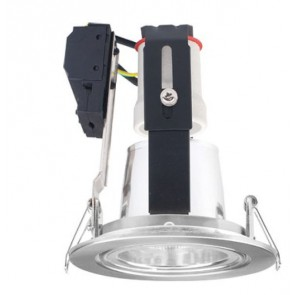 Cairns 12.3 cm Energy Saving Downlight / E27 with Flex and Plug Sunny Lighting