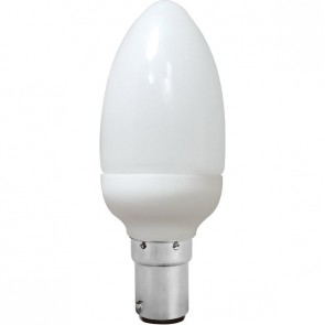 Energy Saving Lamp Candle Shape Compact Fluorescent Bulb B15 Sunny Lighting
