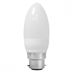 Energy Saving Lamp Candle Shape Compact Fluorescent Bulb B22 Sunny Lighting