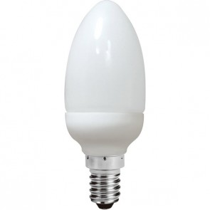 Energy Saving Lamp Candle Shape Compact Fluorescent Bulb E14 Sunny Lighting