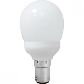 Energy Saving Lamp Fancy Round Compact Fluorescent Bulb B15 Sunny Lighting