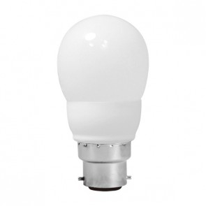Energy Saving Lamp Fancy Round Compact Fluorescent Bulb B222 Sunny Lighting