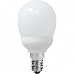 Energy Saving Lamp Fancy Round Compact Fluorescent Bulb E14 Sunny Lighting