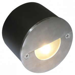 Recessed LED Wall Light in Stainless Steel Sunny Lighting