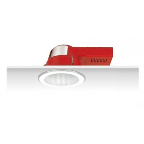 Uni PL Diamond Facetted Reflector Downlight with Frosted Glass Cover Sunny Lighting