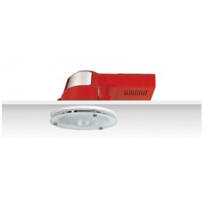 Uni PL Polished Reflector Downlight with Dropped Frosted Glass Sunny Lighting