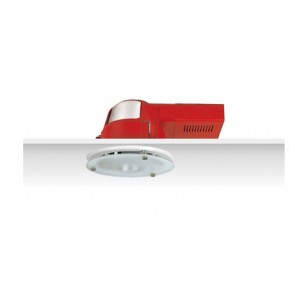 Uni PL Polished Reflector Horizontal Downlight with Dropped Frosted Glass Sunny Lighting