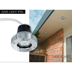 Down Light Eave Ip55 Stainless Steel ASU