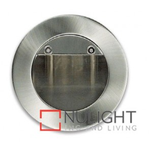 Step Light Recessed Halogen Satin Chrome ASU