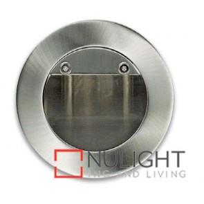 Step Light Recessed Halogen Satin Chrome ASU