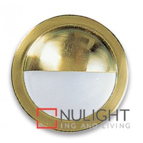 Side Light Eyelid 20W Brass ASU