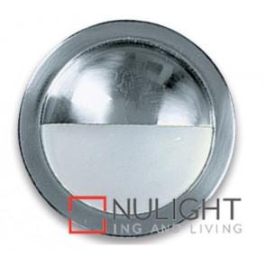 Side Light Eyelid 20W Satin Chrome ASU