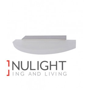 WALL INTERNAL Surface Mounted CITY LED Satin Nickel CURVED FROSTED DIFF 4W 120D 3000K IP23 (300 lumens) CLA