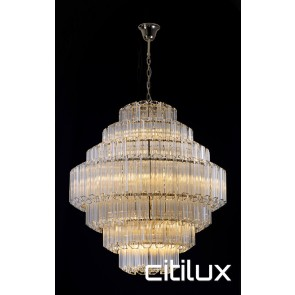 Takela 18 Lights Chandelier Gold Citilux