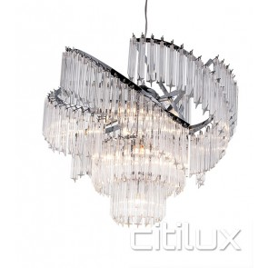 Tango 9 Lights Chandelier Citilux