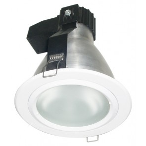 240V 100W E27 Glass Downlight Tech Lights