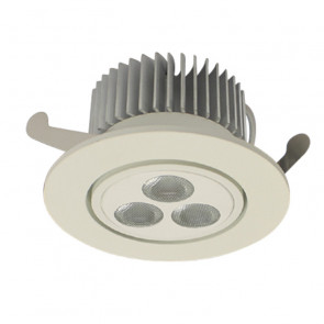 9W LED Adjustustable Dimmable Downlight Tech Lights