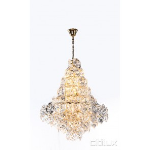 Tiffani 12 Lights Pendant Gold Citilux
