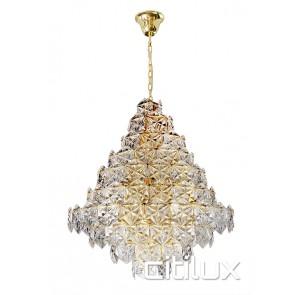 Tiffani 17 Lights Pendant Gold Citilux