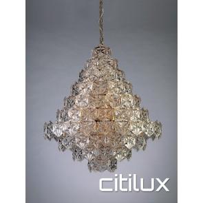 Tiffani 17 Lights Pendant Rose Gold Citilux