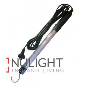 EXELITE Fluorescent WORK LIGHT 8W PL AC wall adaptor (500 Lumens) CLA