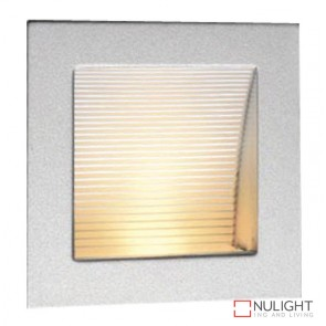 Linea 90 Led Silver 3000K Recessed Wall Light ORI
