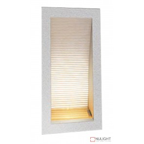 Linea 170 Led Silver 6000K Recessed Wall Light ORI