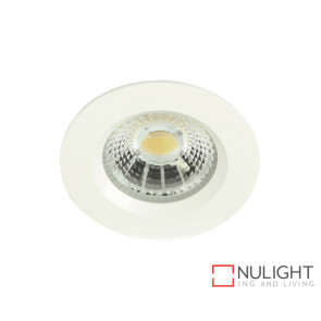 Theta Round 13W LED Downlight - White Frame - Warm White LED ORI