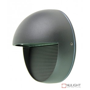 Vargo Round Led Wall Light Graphite ORI