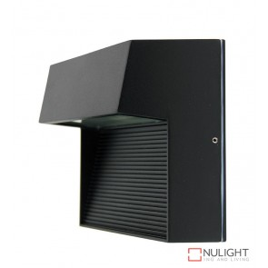Vargo Square Led Wall Light Black ORI
