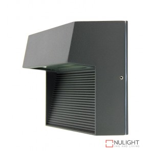 Vargo Square Led Wall Light Graphite ORI