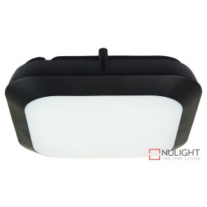 Duro.30S 14W Led Square Bulkhead Black Pc ORI
